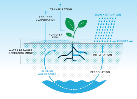 WATER RETAINER – AGRICULTURE SOLUTION