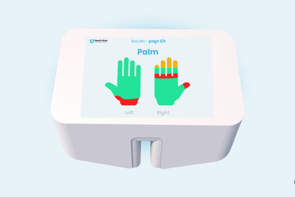 HAND IN SCAN