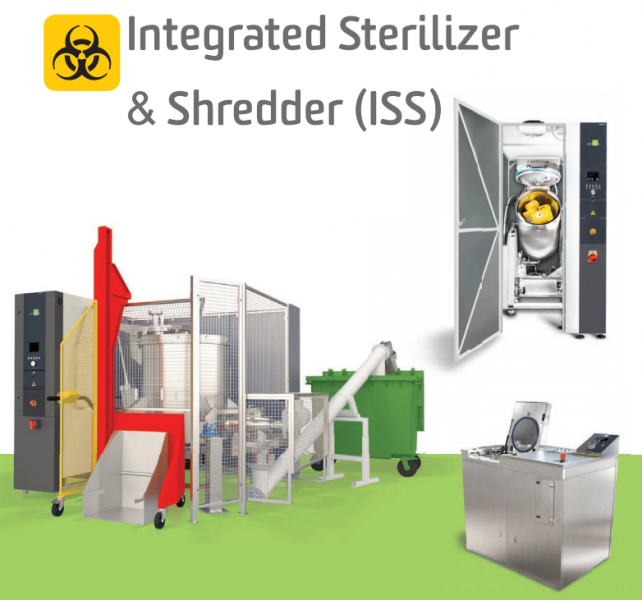 CELITRON – INTERGRATED STERILIZER & SHREDDER (ISS)