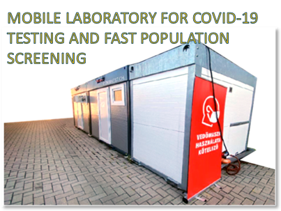 FEMTONICS – MOBILE LABORATORY FOR COVID-19 TESTING