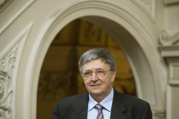 Ούγγρος Μαθηματικός László Lovász που κερδίσε βραβέιο Abel