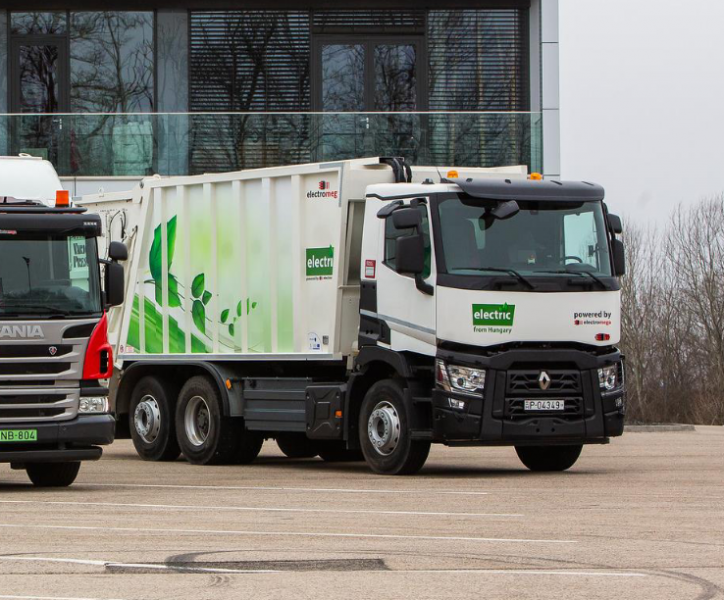 ELECTROMEGA- ELECTRIC WASTE COLLECTOR TRUCK